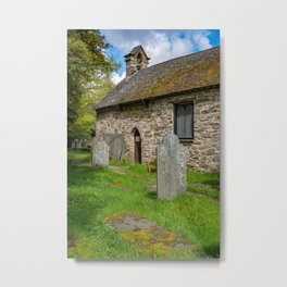 St Michael's Church Betws y Coed Metal Print