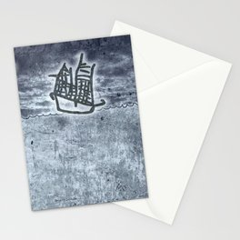 Fragata a la vista! Stationery Cards