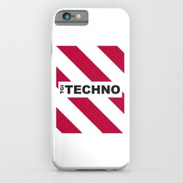 Thank God is Techno iPhone Case