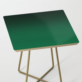 Green , gradient Side Table