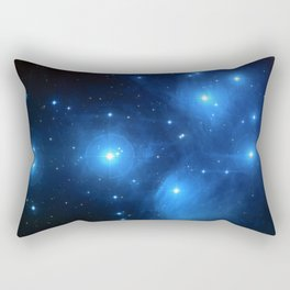 "The Pleiades (""The Seven Sisters"") (NASA/ESA/Palomar Observatory) Rectangular Pillow"