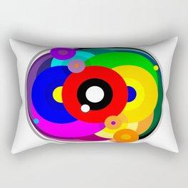 Kaleidoscope Color Wheel Rectangular Pillow