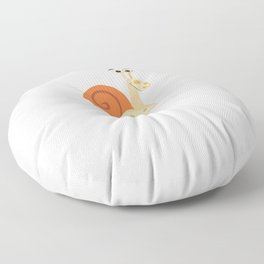 I Just Wanna Hang With My Snail Floor Pillow