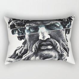 Zeus the king of gods Rectangular Pillow