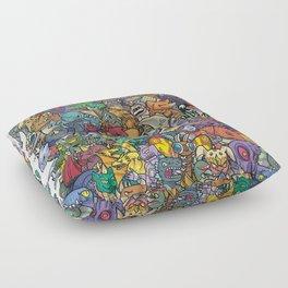 Kaiju Crew Floor Pillow
