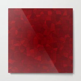 Geometric Shapes Fragments Pattern 2 dr Metal Print