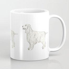 English Cocker spaniel - sketch Coffee Mug