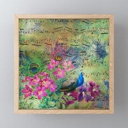Feather Peacock 18 Framed Mini Art Print