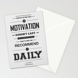Lab No. 4 People Often Say Zig Ziglar Motivational Quote Wall Decor Stationery Cards