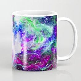 purple teal nebula space Coffee Mug