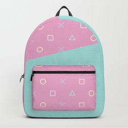 Gamer Girl - Pastel Playstation Controller Buttons Backpack