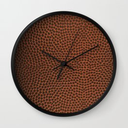 Football / Basketball Leather Texture Skin Wall Clock