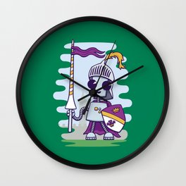 Ned the Knight Wall Clock