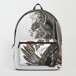 Aecropolis Fallen Priestess and Gargoyles Backpack