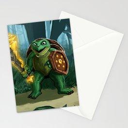 Turtle Paladin Stationery Cards