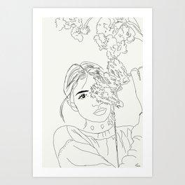 NEAR SPRING Art Print