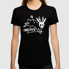 Empires Arrow Jackalope Print T-shirt