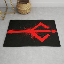 Bloody Rune Rug