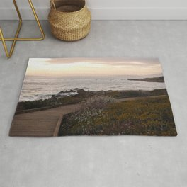 On the right path - Wildflowers bloom for those in love Rug