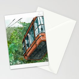 city watercolor - Colombia Stationery Cards