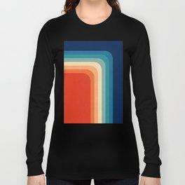 Retro 70s Color Palette III Langarmshirt
