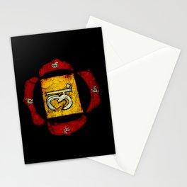 root chakra Muladhara Stationery Cards