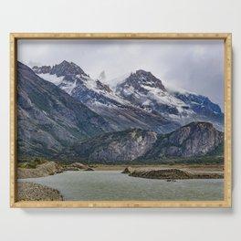 Parque Nacional los Glaciares - Patagonia - Argentina Serving Tray