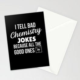 Chemistry Joke Stationery Cards