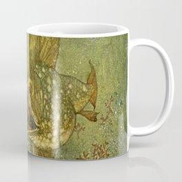 """The Pearl of the Fish"" by Edmund Dulac Coffee Mug"