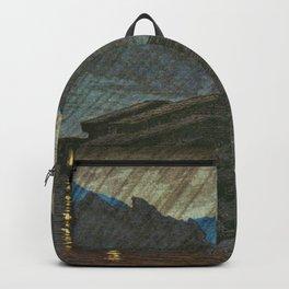 Kawase Hasui - Suhara, Kiso, Views Of Japanese Scenery - Digital Remastered Edition Backpack