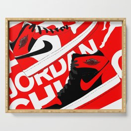 Chicago Red AJ1 Serving Tray
