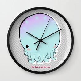 Lil Squid Wall Clock