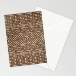N112 - Traditional Boho Farmhouse African Moroccan Artwork. Stationery Cards