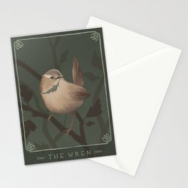The Wren Stationery Cards