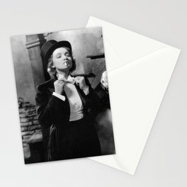 Marlene Dietrich morocco Stationery Cards
