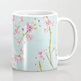 Spring Flowers - Cherry Blossom Pattern Coffee Mug