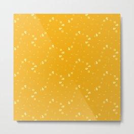 Simple Geometric Pattern 3 cy Metal Print