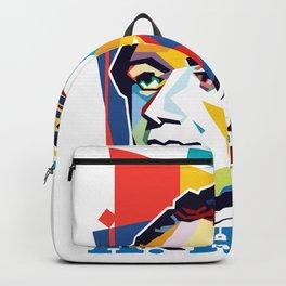 Alexander Hamilton Pop Art Backpack