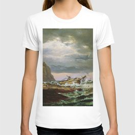 Johan Christian Dahl - Shipwreck On The Norwegian Coast - Digital Remastered Edition T-shirt