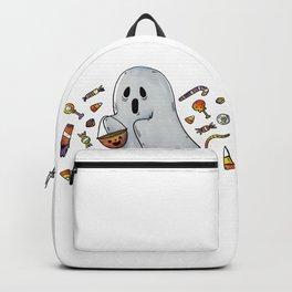 Trick or Treating Halloween Ghost Backpack