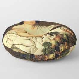 Merisi da Caravaggio - Bacchus Floor Pillow