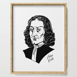 Antonio Vivaldi Serving Tray