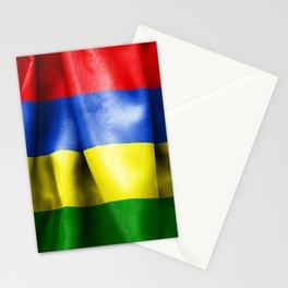 Mauritius Flag Stationery Cards