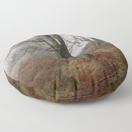 The Mysterious Forest Floor Pillow