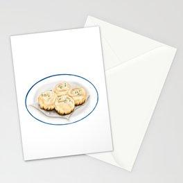 Dim Sum | Pan Fried Dumplings | 生煎包 Stationery Cards