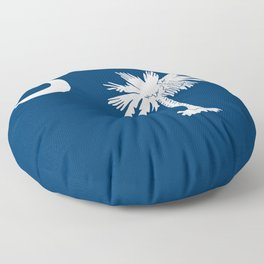 Flag of South Carolina Floor Pillow