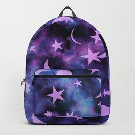 Starry Sky Moon Cosmos Dream #1 #decor #art #society6 Backpack