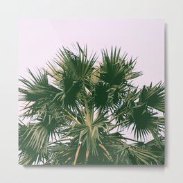 Palm tree#vintage#film#effect Metal Print
