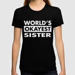 FUNNY SISTER T SHIRT T-shirt