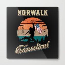 Norwalk Connecticut Metal Print